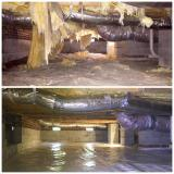 A recent insulation contractor job in the area