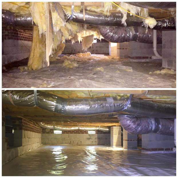 Sealing Crawl Space In Raleigh, NC 27616